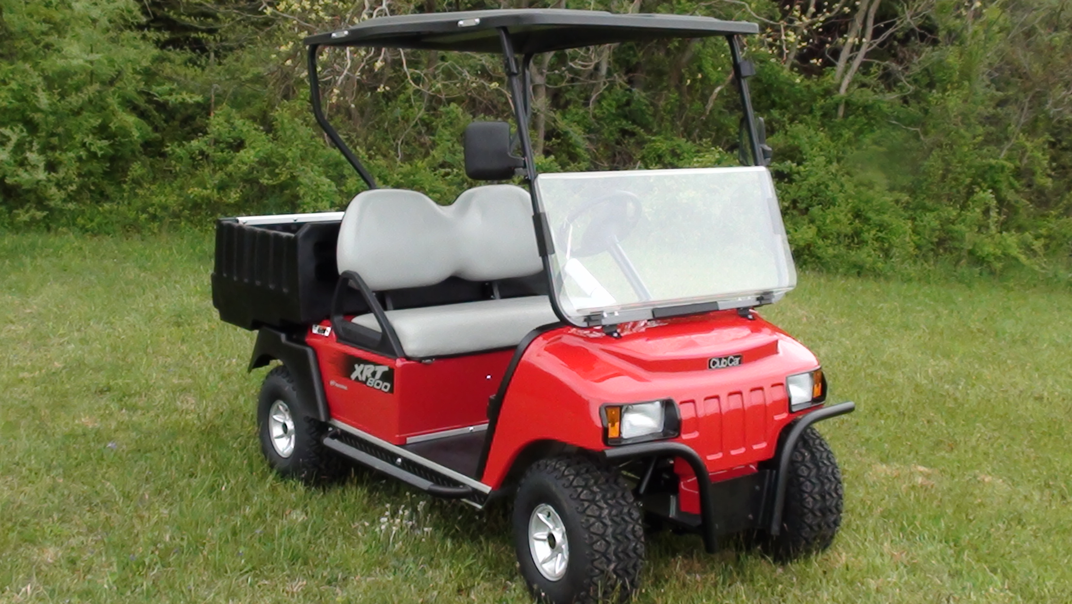 2015 Club Car Xrt 800 Fuel Injected Red C C Golf