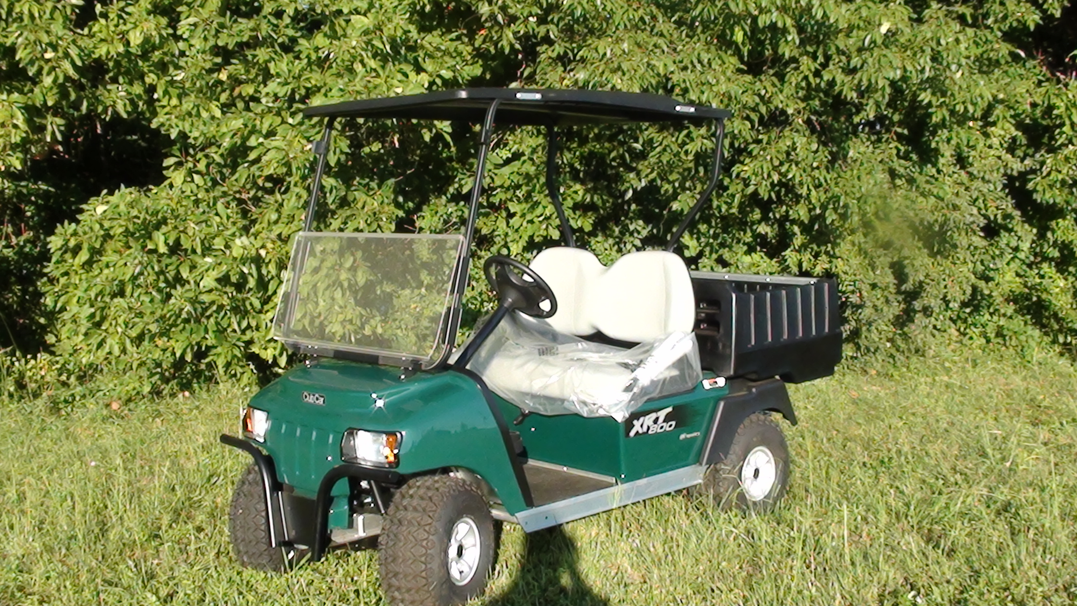 2015 Club Car Xrt 800 Fuel Injected Green C C Golf